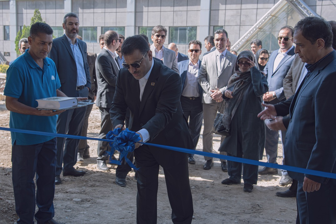 افتتاحیه پروزه ساخت انبارمرکزی-تیر1399